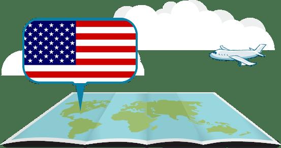 Sledování zásilky z USA